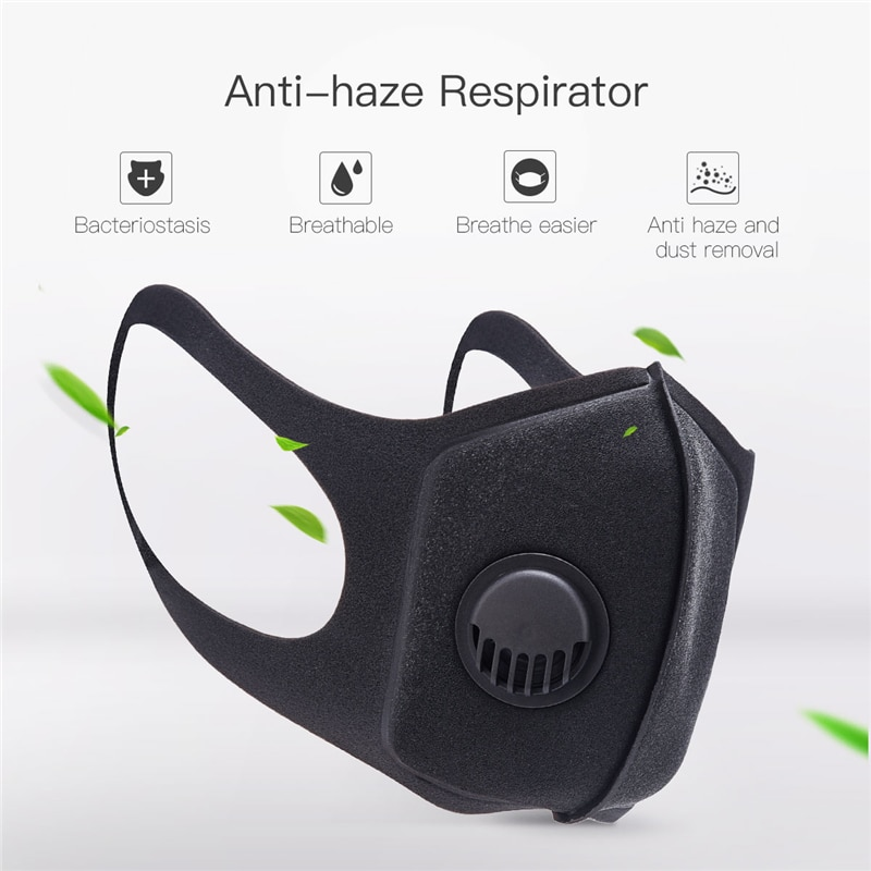 Sports Filter unisex With For Air Mask Anti-pollution amp; Training